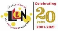 LLEN 20 Year Anniversary logo 190px