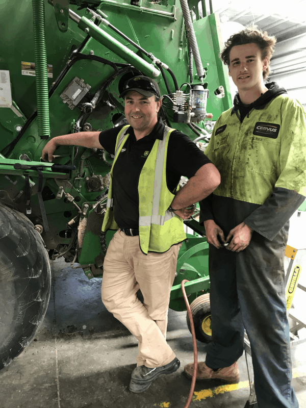 Ben secures an apprenticeship with Cervus Equipment