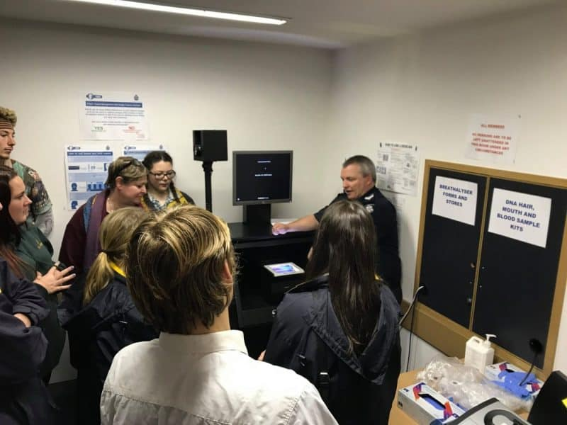 Industry tour to Wonthaggi Police Station and Wonthaggi State Coal Mine