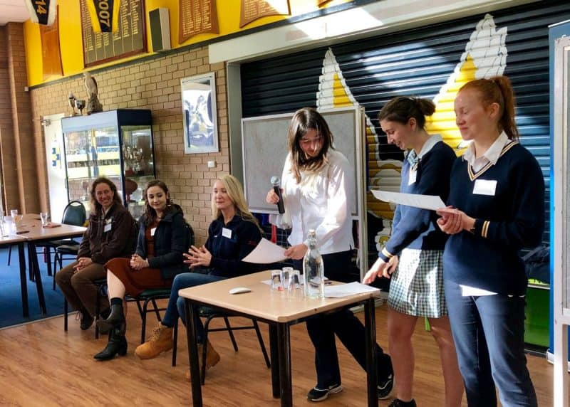 Inspiring young women into STEM
